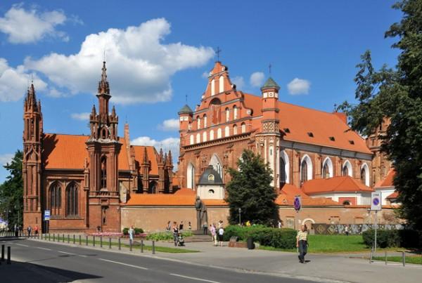 chiesa-s-anna a vilnus